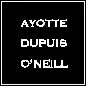 Ayotte Dupuis O'Neill